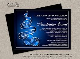Fundraiser Invitation Templates