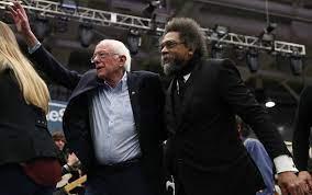 At Bernie Sanders rally, Cornel West ...