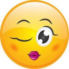 Wink Smiley Emojis Emoticon Smiley Naughty Emoji