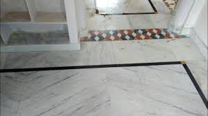 marble flooring border part in work india