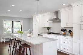 great idea of round clear glass pendant lights for kitchen island inside plans 5
