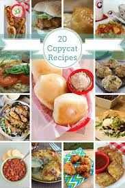 you will love this list of 20 must try copycat recipes you ll