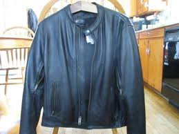 fox creek leather motorcycle jacket summer riding jacket size 42