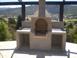 outdoor fireplace bbq