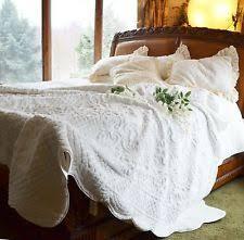 Faux Fur Quilts | eBay & SOFT SURROUNDINGS CHALET FAUX FUR QUILT OFF WHITE QUEEN + 2 SHAMS Adamdwight.com