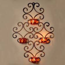 Small Picture Wall Lights Design tea light wall sconces Tea Light Wall Candle