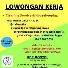 Lowongan kerja di medan, medan, indonesia. Informasi Lowongan Kerja Terbaru Di Her Kostel Medan Oktober 2020