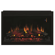 classic flame 36 in traditional built in electric fireplace insert