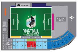 Tcf Stadium Seating Chart Mn United National Sports Center Minnesota United F C Football Tripper
