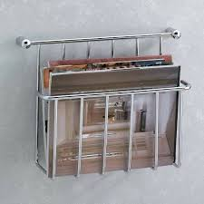wall mount magazine rack toilet. Exellent Magazine Magazine Rack Wall Mounted Mount Toilet Essentials Holder  The Mine Intended And Wall Mount Magazine Rack Toilet T