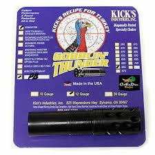 Kicks Gobblin Thunder Ported Turkey Choke Tube 12ga Remington Pro Bore 665 821041051642 Ebay