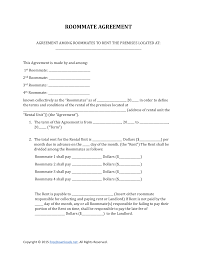 Lease Agreement Form Pdf Download Roommate Rental Lease Agreement Form PDF RTF Word 24