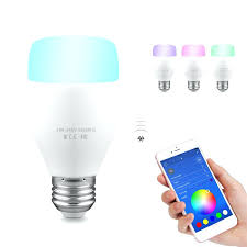 Control lighting with iphone Dmx Iphone Controlled Light Bulb Smart Bulb Led Light Support Remote Control Music Rhythm Adjust Color Brightness Iphone Controlled Light Techradar Iphone Controlled Light Bulb Smart Led Light For Smart House