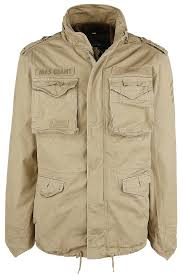 m65 giant winter jacket camel