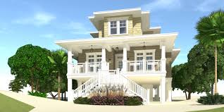 beach house plans piers luxury beachfront home designs best