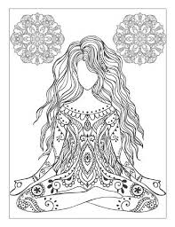 meditation coloring pages. Exellent Pages Yoga And Meditation Coloring Book For Adults With Poses Mandalas  By Alexandru Ciobanu  Issuu To Meditation Coloring Pages N