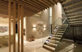 ... Interesting Home Interior Decoration With Various Staircase Wall Decor  : Inspiring Modern Home Interior Decoration Using