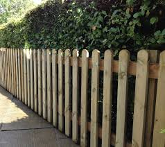 wooden picket fencing supplies