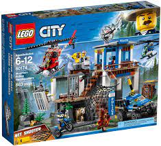 Đồ Chơi LEGO City 60174 - Trụ Sở Cảnh Sát Núi Rừng (LEGO City 60174  Mountain Police Headquarters)