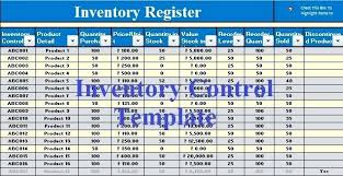 format of inventory stock excel sheet download download inventory control excel template