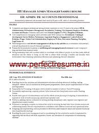 Best Hr Director Sample Resume Images Simple Resume Office