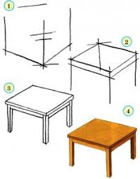 armchair drawing step by step. drawing classes and lessons for kids. draw our house: sofa, bed, table armchair / how to draw. step by