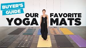 yoga mat er s guide our 10 favorite yoga mats on the market