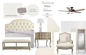 Bedroom Mood Board White French Country Bedroom Mood Board Elizabeth Bixler