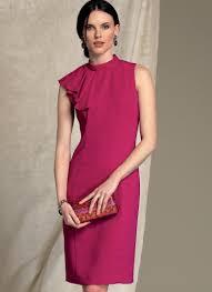 Vogue Patterns 1513 Misses Misses Petite Asymmetrical Draped