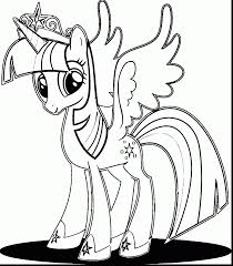 Brilliant Kj Coloring Pages Twilight Sparkle Cukupan With Twilight