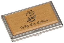 silverwood business card holder with laser engraving custom holders for desk target customized personalised shocking south