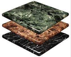 marble resin tables