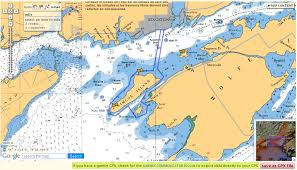 Canadian Nautical Charts Online 31 Veritable Offshore Chart Online