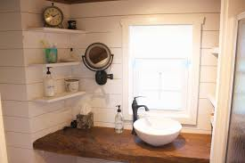 bathroom vanities home depot canada lovely tiny house bathroom vanity reclaimed barn wood with shiplap