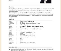 Simple Sample Resume Template Pdf Resume Template Free Download Format Pdf Best