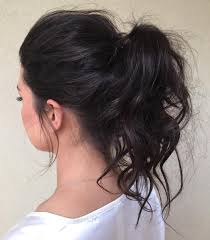 Pony Tail Hair Style 30 eyecatching ways to style curly and wavy ponytails 6676 by wearticles.com