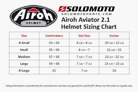 Aviator Size Chart Airoh Aviator 2 1 Off Road Helmet Unboxing Accessories