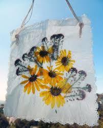 Wax Paper Flower Wax Paper Pressed Flowers Just Like Back In School I Had
