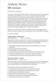 Hr Resume Template Human Resource Resume Human Resources Director
