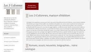 Editions les 3 Colonnes (Paris) | Avis, Emails, Dirigeants, Chiffres  d'affaires, Bilans | 811593078