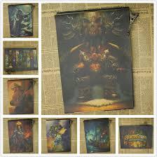 Wall Sticker Vintage WOW <b>Hearthstone</b>: <b>Heroes</b> of War.craft Game ...