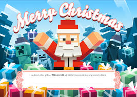 Minecraft Pictures To Print Giving The Gift Of Minecraft Do It With Festive Style