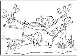 Spongebob And Patrick Printable Coloring Pages Squidward Baby Games