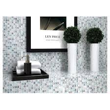 tst crystal glass tile blue aqua mosaic porcelain chips bathroom background wall decorative remodeling art