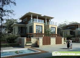 modern two floor loft country house design