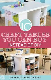 craft tables you can instead of diy