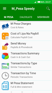 M Pesa Cost Charges Calculator Summary And More 2018 9