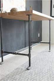 diy workbench desk how to build a workbench with butcher block and pipe