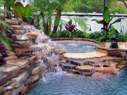 Swimming Pool Photos of Waterfall Swimming Pools