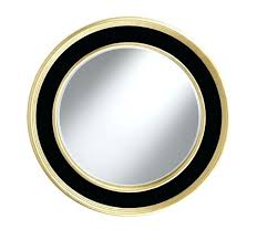 modern round gold mirror wall large contemporary black mirrors uk